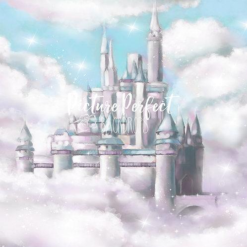 Princess Castle- 8x8 fabric