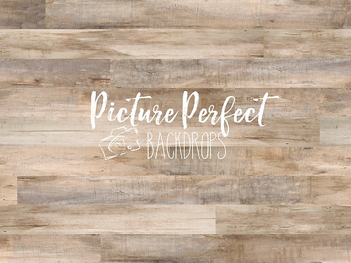 Perfect Cream wood fleece- 6x8 fabric backdrop
