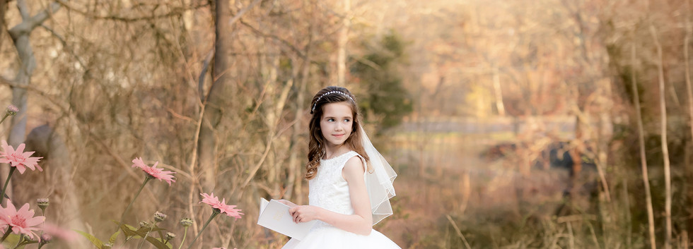 South Jersey Communion Photographer