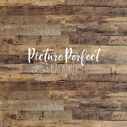Worn weathered wood- 8x8 floor mat