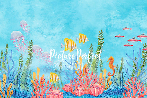 Under the sea 60x80-Fabric