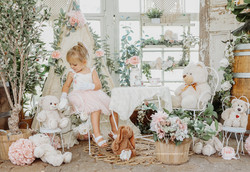 South Jersey Photographer- milestones, tea party, boho, 3 year old, teddy bear, birthday pictures