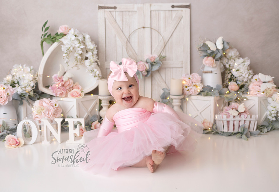 South Jersey Photographer, floral pink, girl, outfit (bella threads)