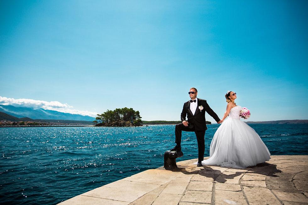 Esküvői fotózás Horvátország