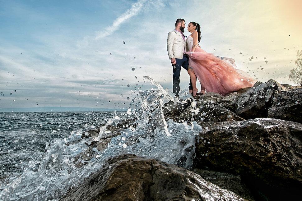 Esküvői fotózás Horvátországban