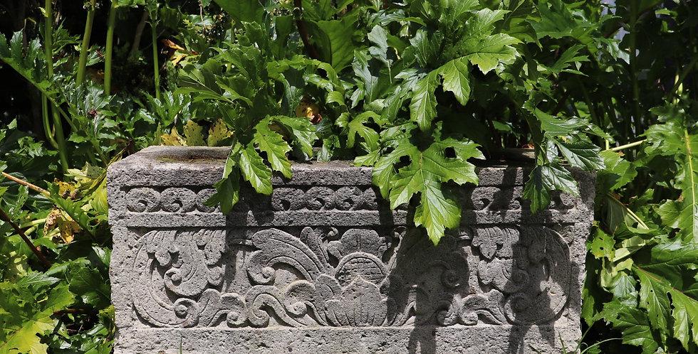 Rectangular Carved Trough