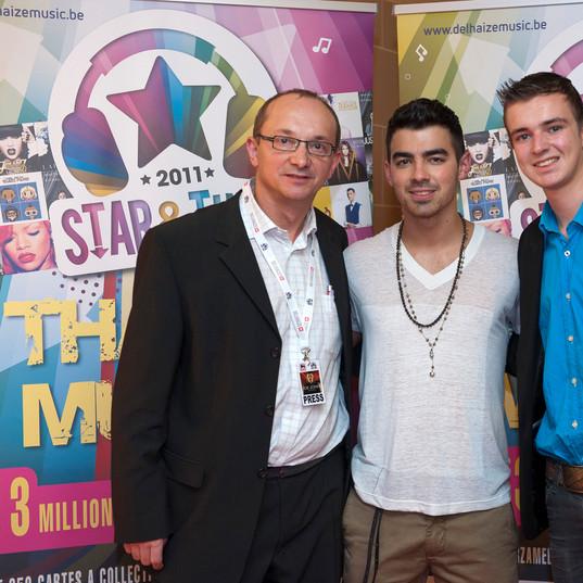 Joe Jonas uit Amerika & Gilles