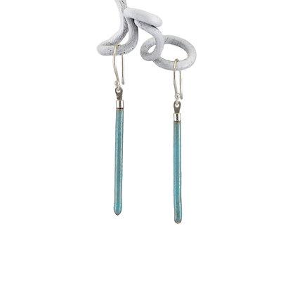 Stabohrhänger, schmal, turquoise blue