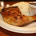 Quarter Chicken (2 pcs) w/ Rice and Beans