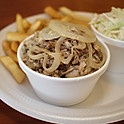 Roasted Pulled Pork w/ French Fries and Coleslaw