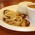 Grilled Pork w/ Rice and Beans
