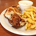 Quarter Chicken (2 pcs) w/ French Fries and Coleslaw
