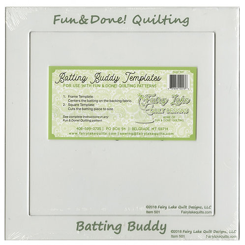 Batting Buddy Template - Fun and Done