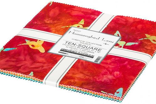Robert Kaufman Hummingbird Lane Batik Layer Cake