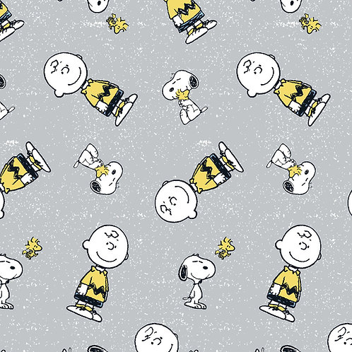 Peanuts Snoopy and Charlie Brown Fabric
