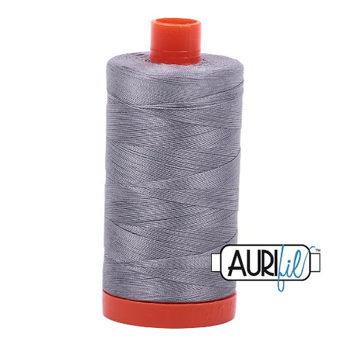Aurifil 50 1300m 2605 Grey Cotton Thread