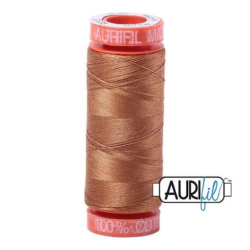 Aurifil 50 200m 2335 Cotton Thread Light Cinnamon
