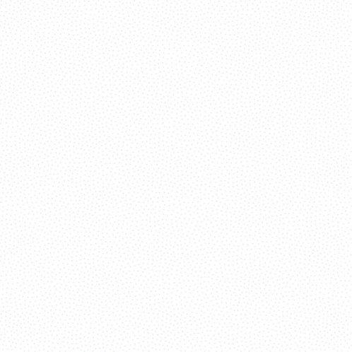Makower Freckle Dot White on White Fabric 9436/WW