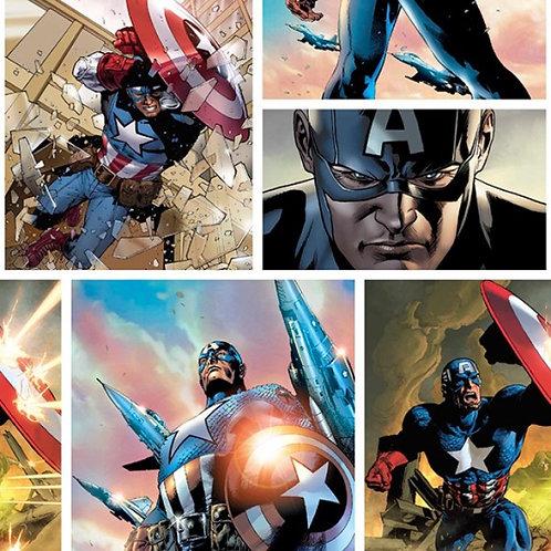 Marvel Captain America Digitally Printed Fabric