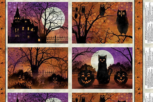 Frightful Night Placemat Panel