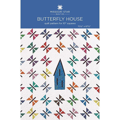Missouri Star Butterfly House Quilt Pattern