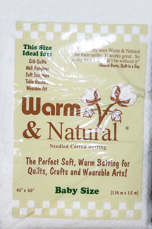 Warm and Natural Baby Size - Cotton