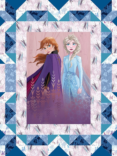 Disney Frozen 2 Fabric Quilt Panel