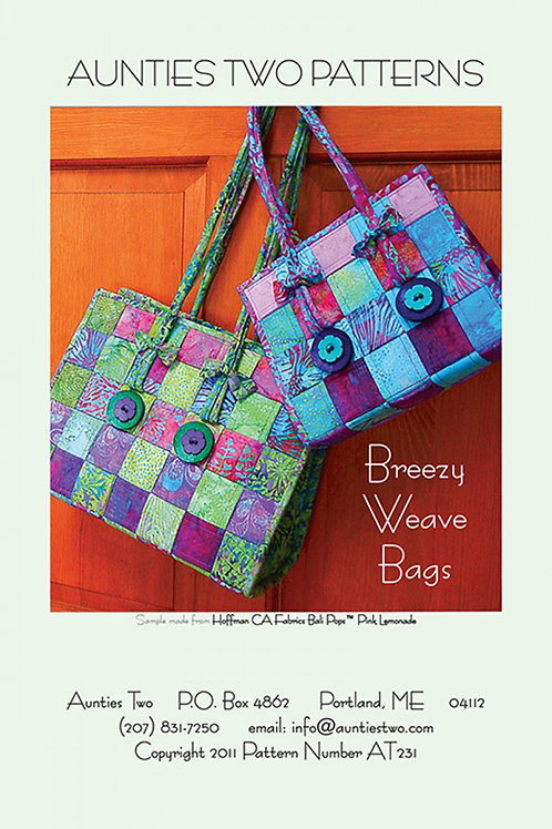 Aunties Two Breezy Weave Bags Pattern