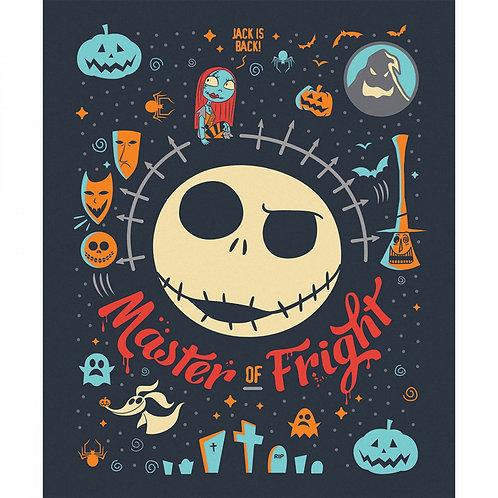 Nightmare Before Christmas Jack Master of Fright  Panel