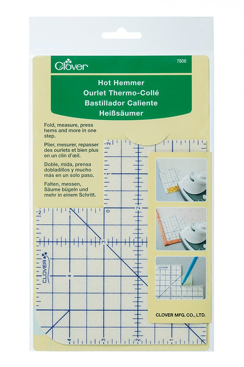 Press Perfect Hot Ruler / hot hemmer - Short 7806