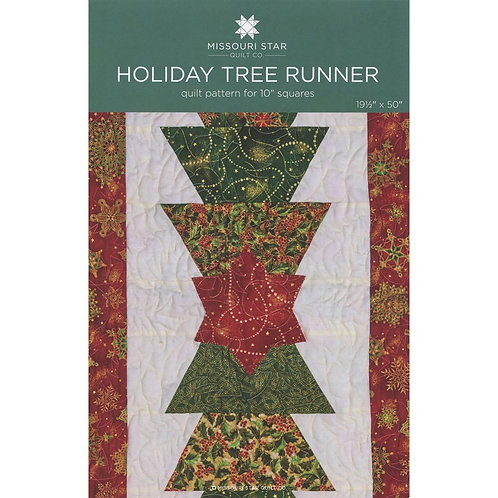 Missouri Star Holiday Tree Runner Pattern