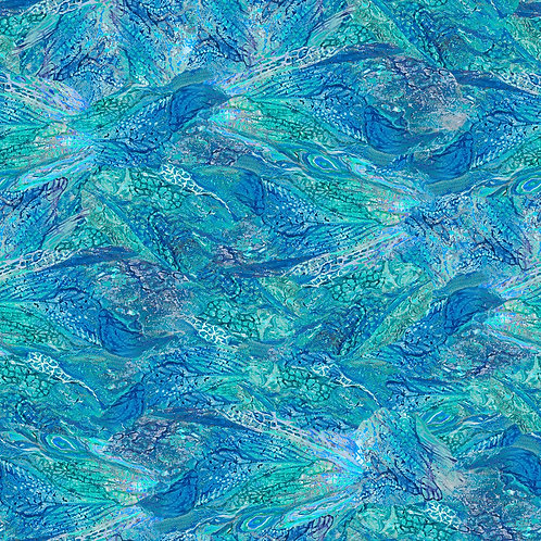 LP Ray of Hope Blue Wings Fabric