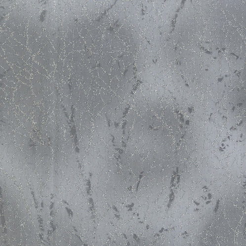 Grey Diamond Dust With Glitter Fabric