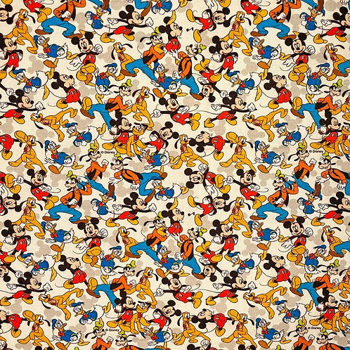 Disney Mickey Mouse and Friends Fabric