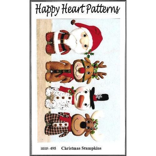 Christmas Stumpkins Pattern