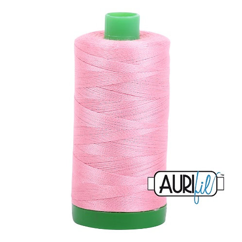 Aurifil 40 1000m 2425 Bright Pink Cotton Thread