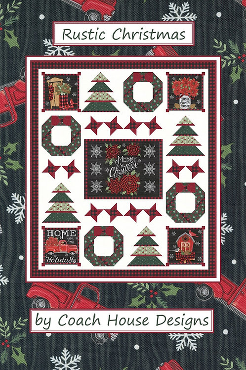 Rustic Christmas Quilt Pattern