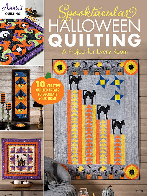 Spooktacular Halloween Quilting Pattern Book
