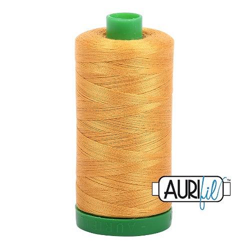 Aurifil 40 1000m 2140 Orange Mustard Cotton Thread