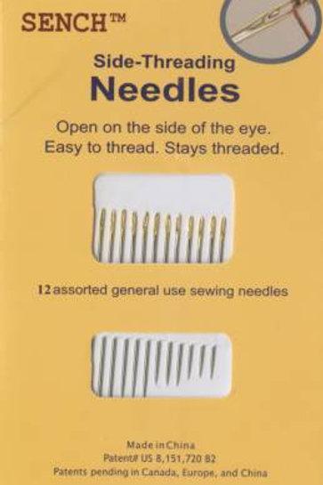 Sench Side Threading Needles 12pk