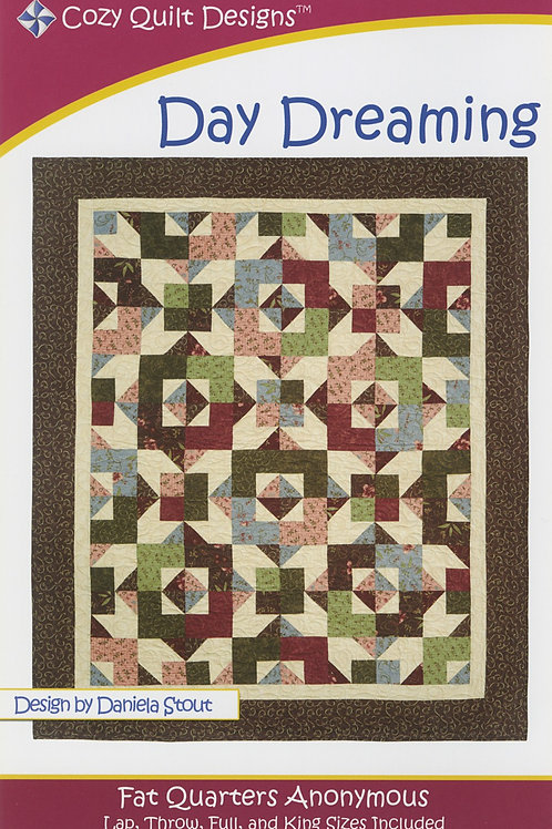 Cozy Quilt Designs Day Dreaming Quilt Pattern