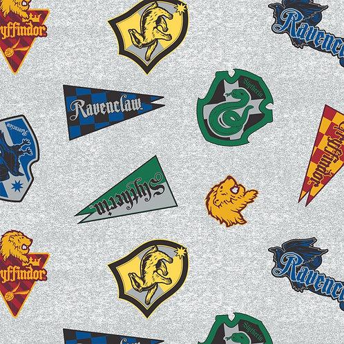 Harry Potter Hogwarts House Fleece Fabric