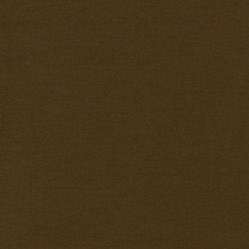Chocolate 1073 - Kona Solids Fabric