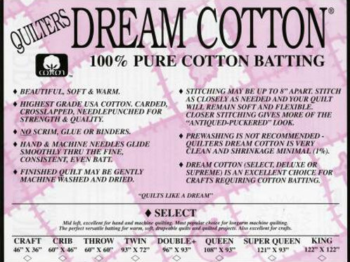 Quilters Dream Select Natural Queen Size