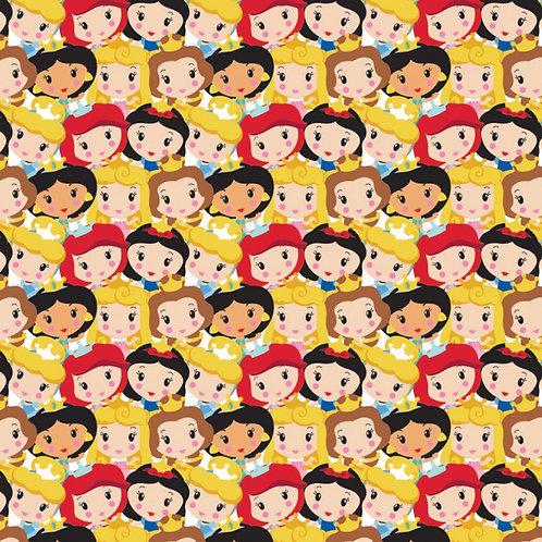 Disney Cute Princesses Kawaii Party Fabric