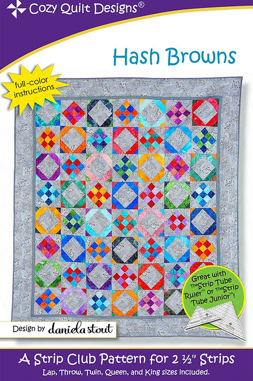 Cozy Quilt Designs Hash Browns Quilt Pattern