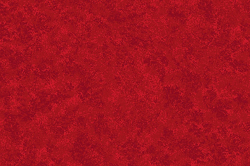 2800/R04 Cherry Red Makower Spraytime Fabric