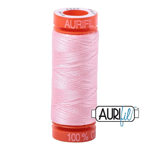 Aurifil 50 200m 2423 Cotton Thread Baby Pink