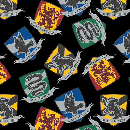 Harry Potter House Crests Fleece