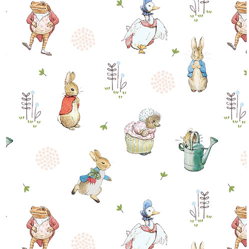 Peter Rabbit and Friends Fabric